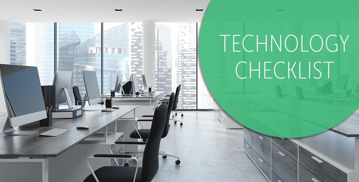 law firm technology checklist