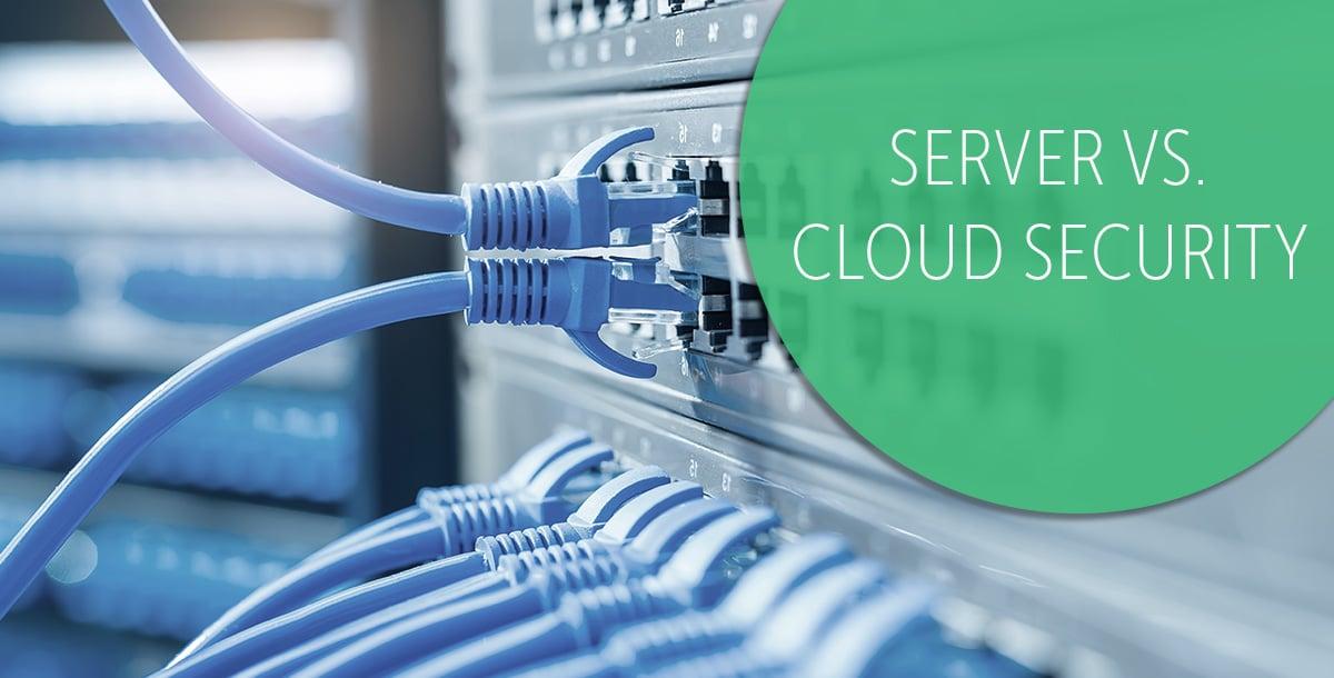 Server vs cloud security