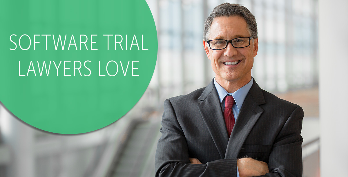 software for trial lawyers