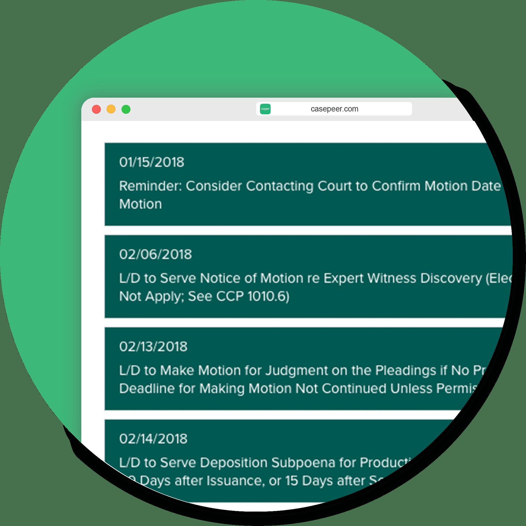 Calendar Rules Integration