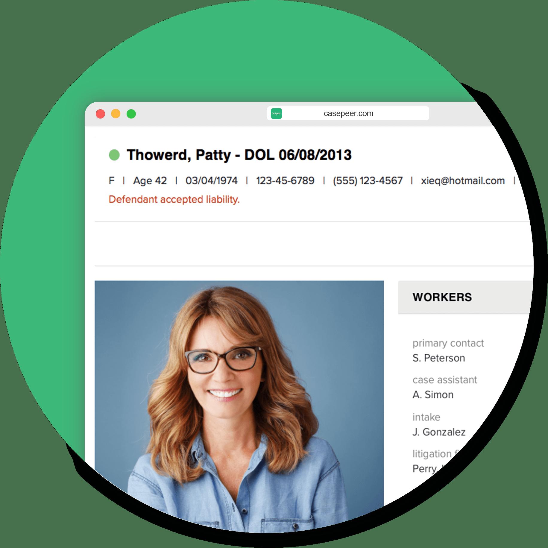 Virtual Case Files
