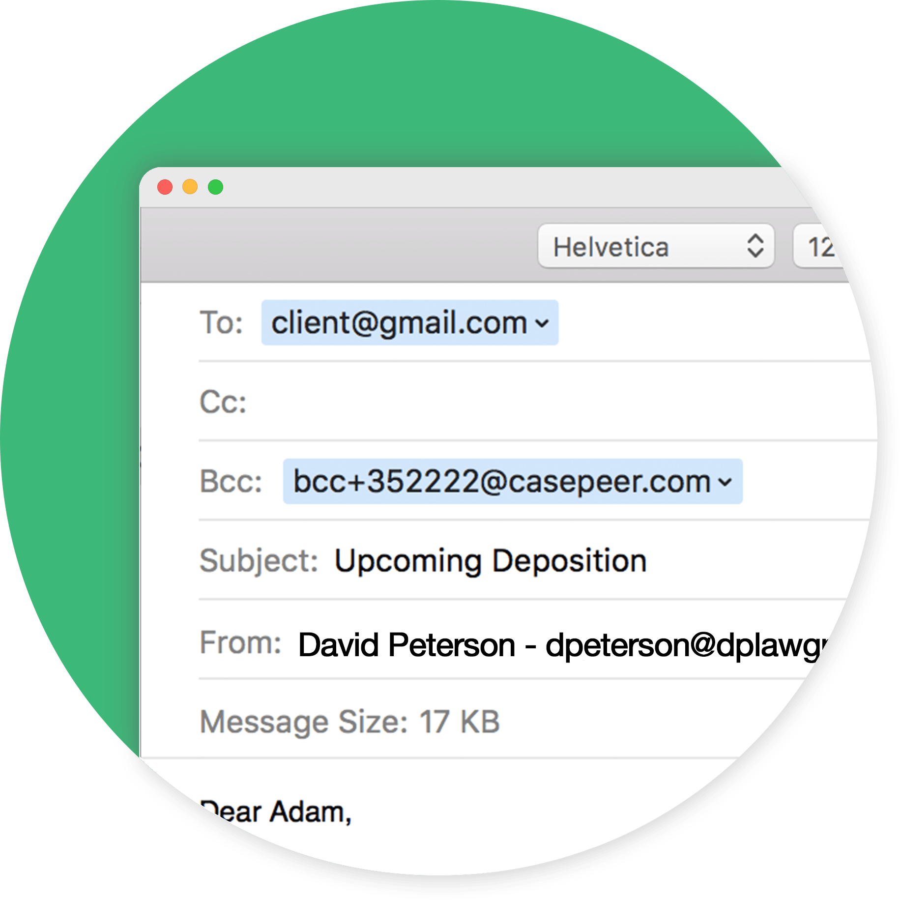 Track Email Correspondence