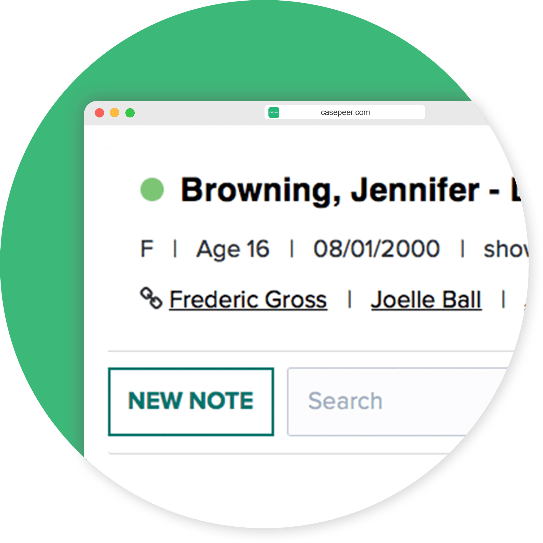Share Information Across Linked Cases
