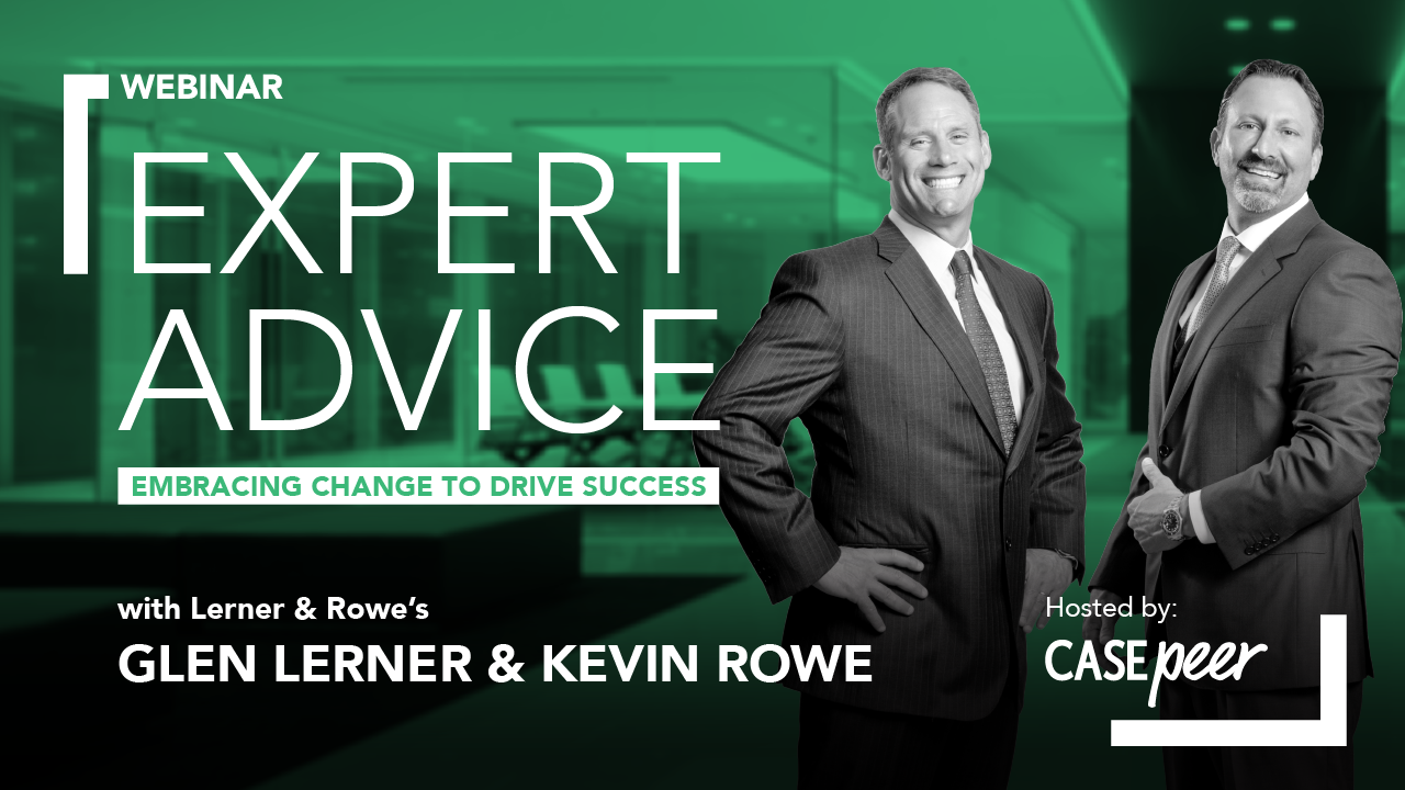 EXPERT ADVICE with Lerner & Rowe