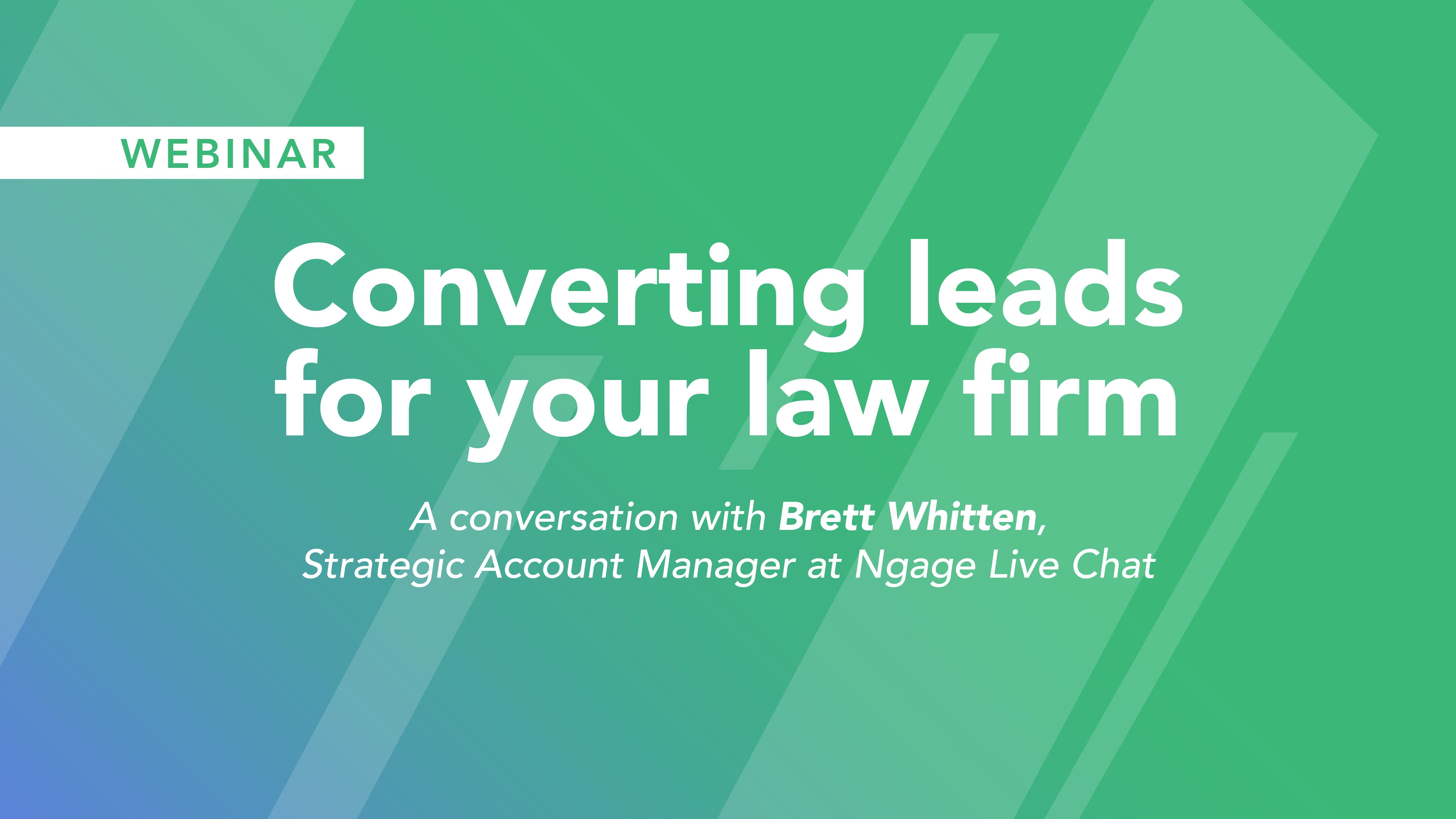 A Conversation with Brett Whitten