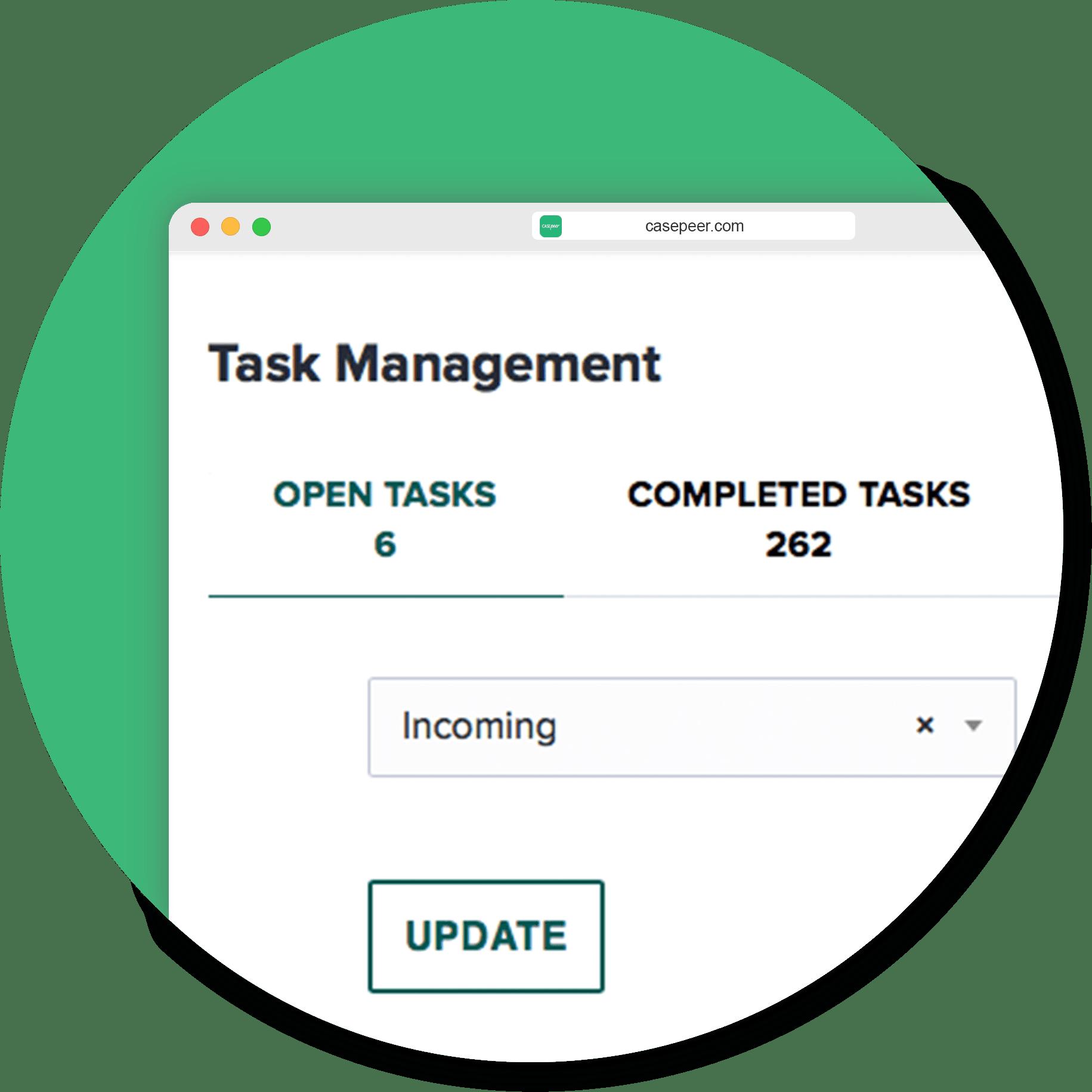 Assign & Complete Tasks
